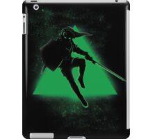 Silhouette Green iPad Case/Skin
