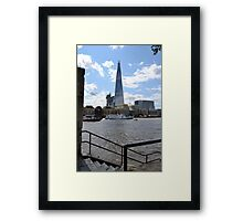 The Shard Framed Print