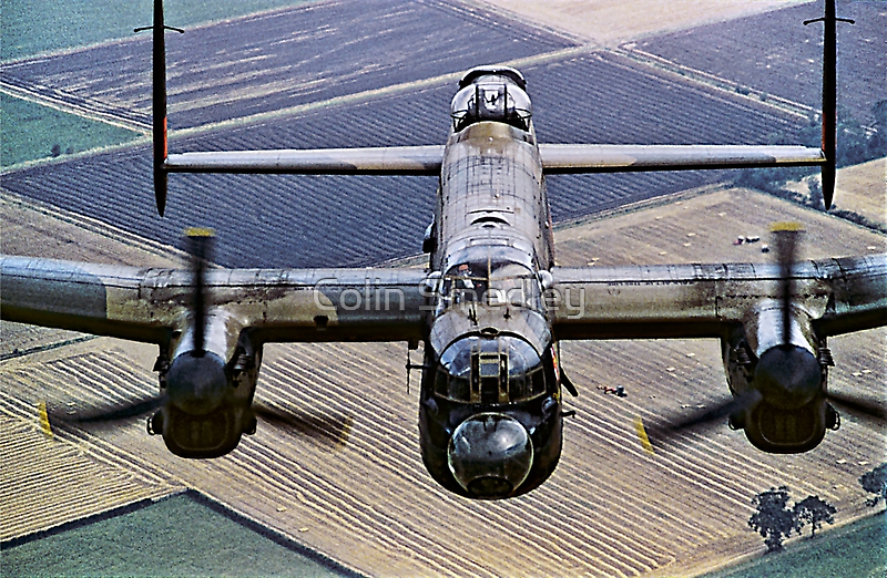 Lancaster B.1 up close and personal by Colin Smedley