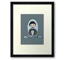 The Renewed Doctor Framed Print