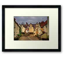 White Horse Close Framed Print