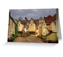 White Horse Close Greeting Card