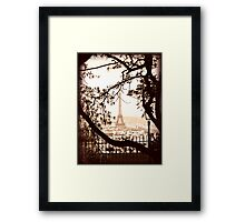 Paris Skyline from Sacre Coeur Framed Print