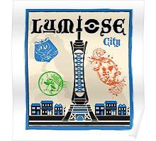 Lumiose City Poster