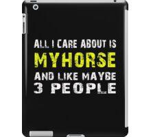 My Horse - T-shirts & Hoodies iPad Case/Skin