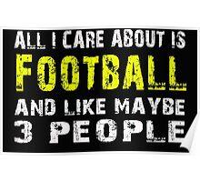 Football - T-shirts & Hoodies Poster