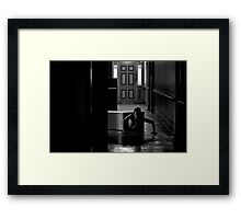 Born from the earth and into the shadows... Framed Print