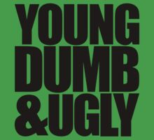 Weird Al - Young Dumb & Ugly (in Black) by rjzinger