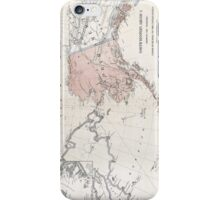 Northwestern America - Alaska - 1867 iPhone Case/Skin