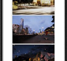 Melbourne Icons - City Views by Sue Wickham