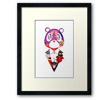 Dropout Bear Framed Print