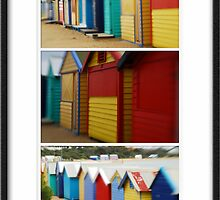 Melbourne Icons - Brighton Beach Houses by Sue Wickham