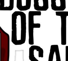 Boss of the Sauce Sticker