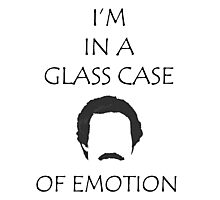 Glass Case of Emotion Photographic Print