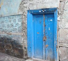 Blue Door Ankara by Keryn Mitchell
