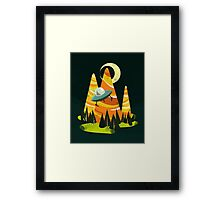Montains Framed Print