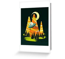 Montains Greeting Card