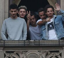 One Direction in Milan, Italy by SamsPopArt