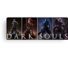 Dark Souls Warrior Canvas Print