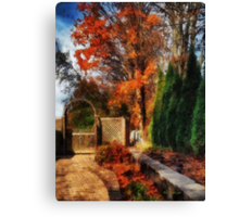 Glorious Autumn Canvas Print