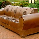 Metal Couch by Jamie Tucker