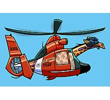 US Coast Guard Giraffe - Tyler Photographic Print