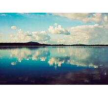Cloudy Reflections Photographic Print