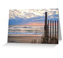OBX Morning Greeting Card