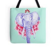 Zen Elephant Tote Bag