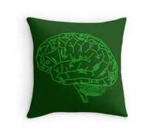 Hard-Wired Throw Pillow