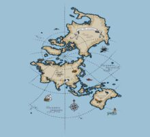 Mercator Map Kids Clothes