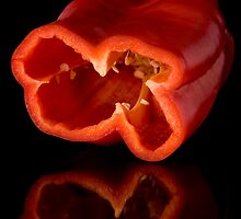 Split Pepper by Kory Trapane