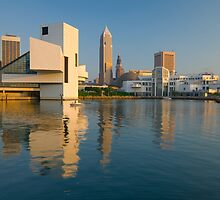 Cleveland Ohio  Rock and Roll Hall of Fame (Alan Copson © 2007) by Alan Copson
