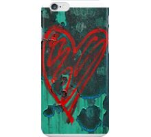 Urban Love - Red and Turquoise iPhone Case/Skin