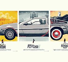 Back to the Future 1, 2, and 3 by Pamfakner