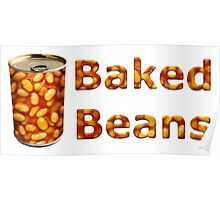 Baked Beans Can Poster