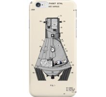 Space Capsule Patent - Colour iPhone Case/Skin