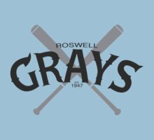 Roswell Grays Baseball Kids Clothes