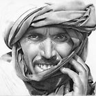 Abdel - Man in a Turban by David J. Vanderpool
