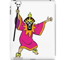 Scooby Doo Witch Doctor Villain iPad Case/Skin