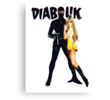 Danger Diabolik Canvas Print