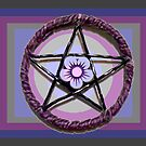 Purple Star by peyote