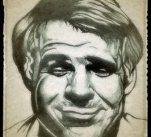 Steve Martin drawing by RobCrandall