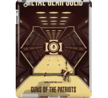 Guns of the Patriots iPad Case/Skin
