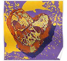 Kintsugi Golden Heart Poster