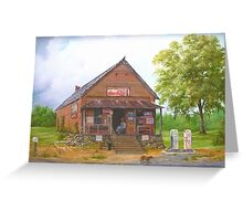 Lost Mountain Store, Cobb Co. Georgia Greeting Card