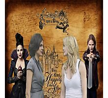 SwanQueen Storybook Photographic Print