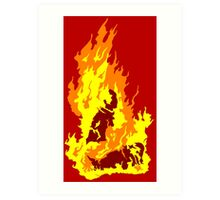The Self-Immolation of Thích Quảng Ðức Art Print
