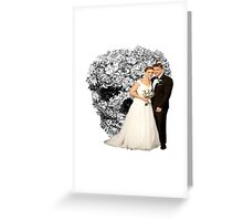 Bones Wedding Greeting Card