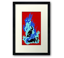 Self-Immolation Framed Print